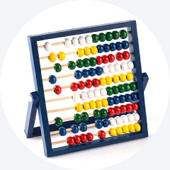 Abacus in blau