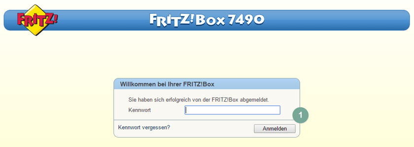 FritzBox Quality of Service 1